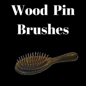 Wood Pin Brushes