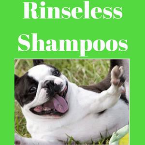 Rinseless Shampoos
